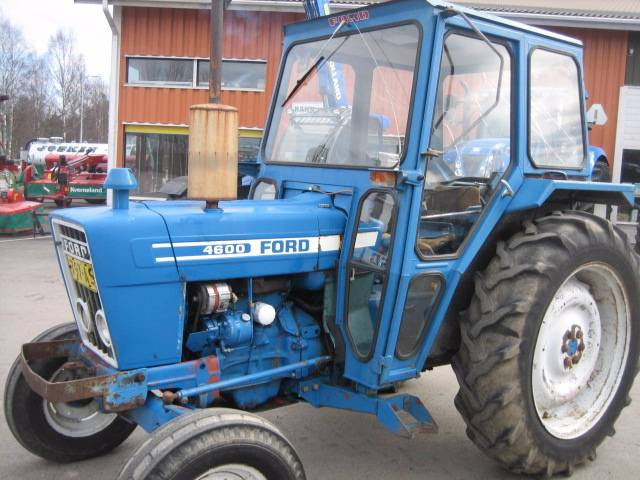 Ford 4600 Tractor Information : Ford year tractors id af cc