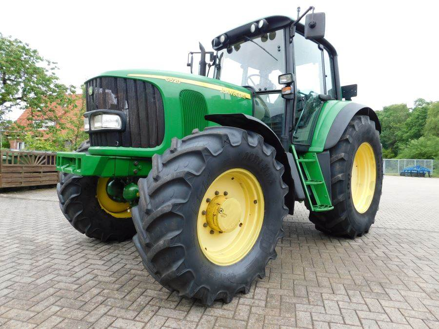 john deere 6520 allrad traktor year 2003 tractors. Black Bedroom Furniture Sets. Home Design Ideas