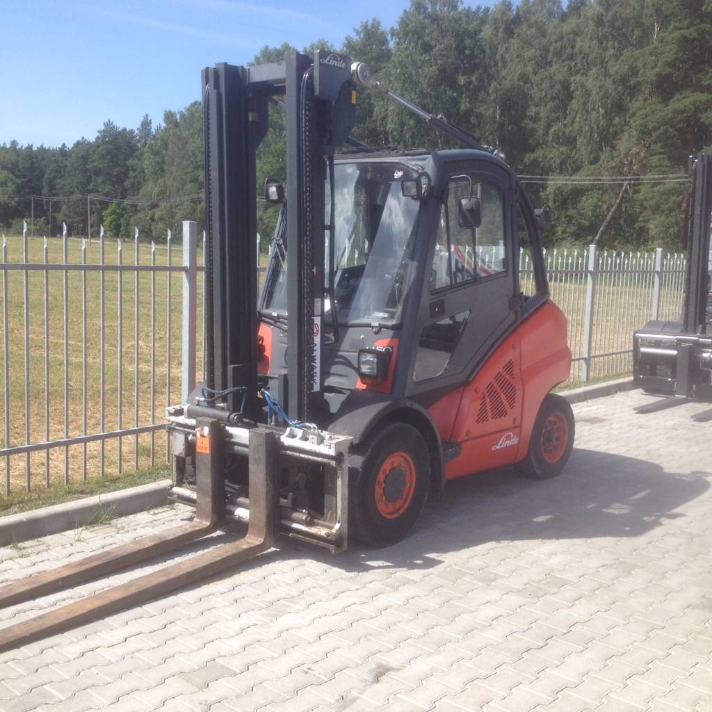 2009: Used Linde H50D Diesel Forklifts Year: 2009 For Sale