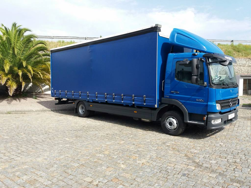 Used mercedes benz atego 1222l curtain side trucks year for Used mercedes benz trucks for sale in germany
