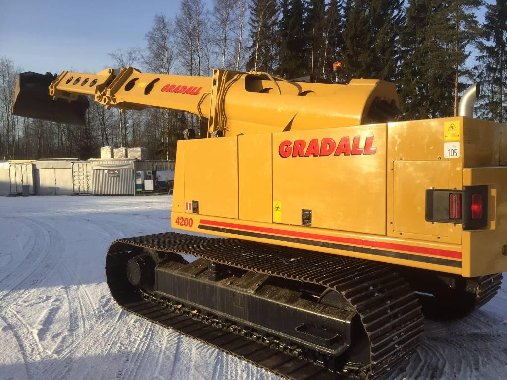 used gradall xl4200 crawler excavators year  1993 price