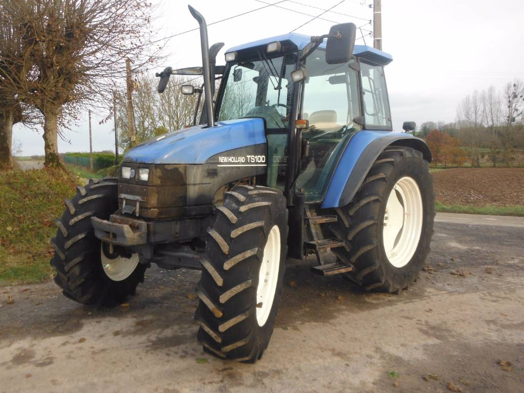 New Holland ts 100 owners manual