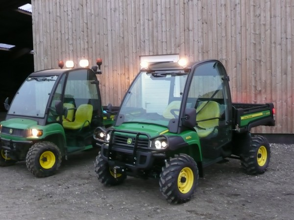 John Deere Gator Plow >> Used John Deere Gator XUV 855 D 4x4 golf carts Year: 2012 for sale - Mascus USA