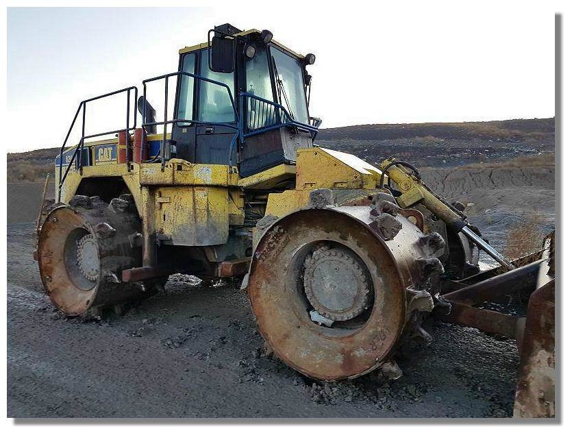 Cat 826g Compactor : Used caterpillar g series ii waste compactors year