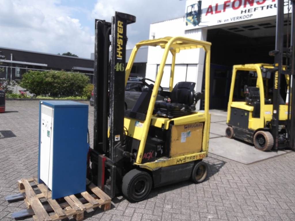 Used hyster electric forklift trucks year 2005 for Electric forklift motor for sale