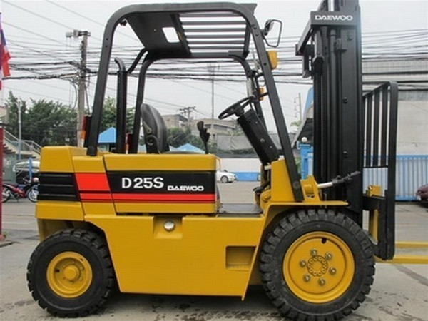 Daewoo -d25s-2 - sel Forklifts, Price: £6,852, Year of ...