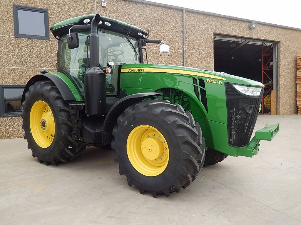 used john deere 8320r premium tractors year 2016 for sale mascus usa. Black Bedroom Furniture Sets. Home Design Ideas