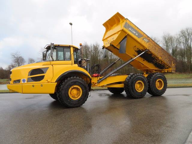 Used Volvo A 35 F 6x6 Dump Truck articulated Dump Truck (ADT) Year: 2011 Price: $117,122 for ...