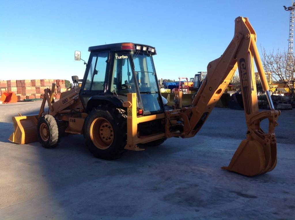 Used case 580 sle backhoe loaders year 1997 price for Avis e case construction