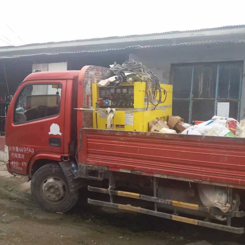 used engine driven welding machine