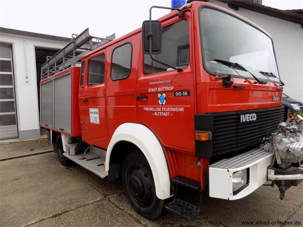 iveco 90 16 aw bouwjaar 1989 brandweerwagens id. Black Bedroom Furniture Sets. Home Design Ideas