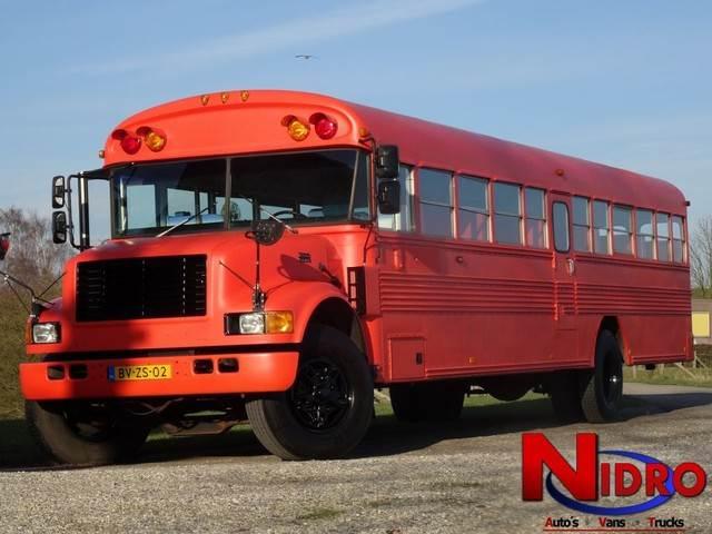 international blue bird school bus food bus preis 44. Black Bedroom Furniture Sets. Home Design Ideas