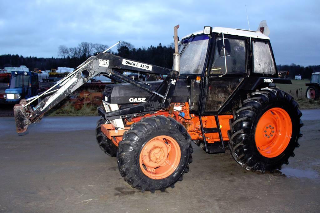 1982 Case Tractors : Case ih med lastare nyÅrsraket year