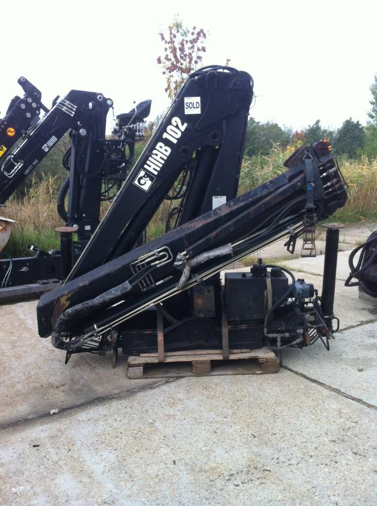Used Hiab 102-2 loader cranes Year: 1999 Price: $8,244 for sale - Mascus USA
