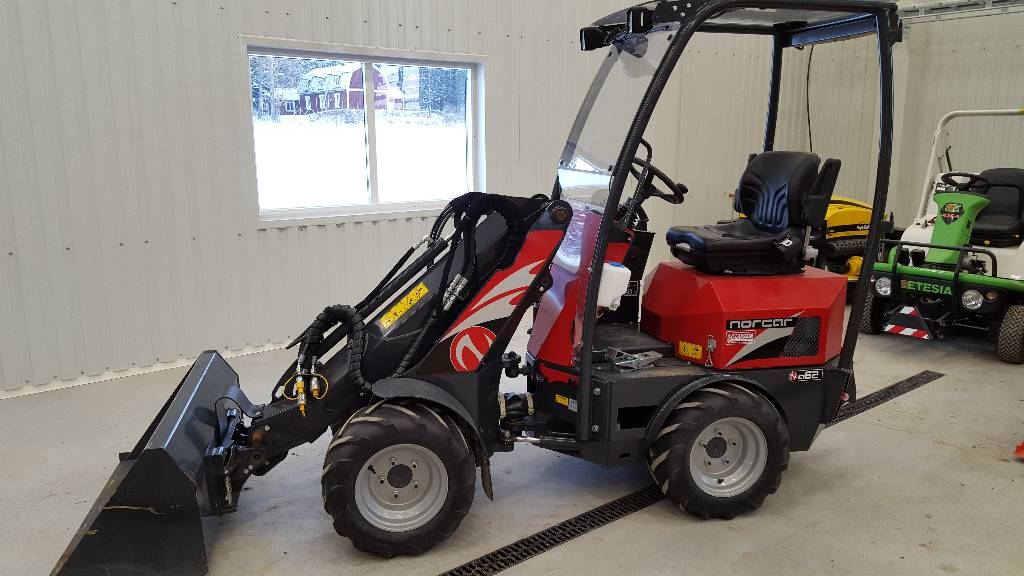 Used Norcar A62 Mini Wheel Loader Year 2013 For Sale