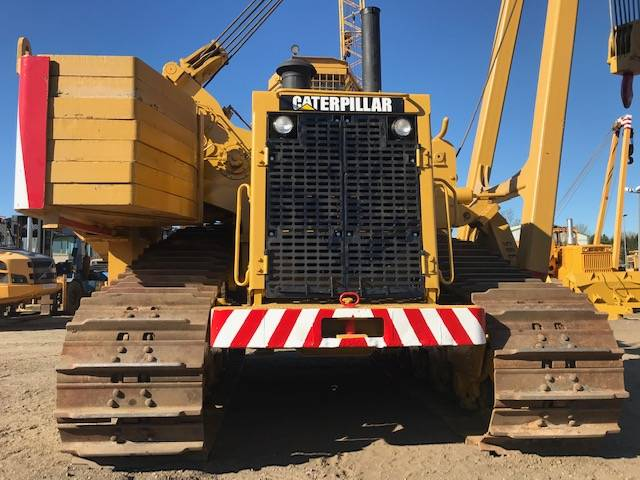 Caterpillar 589  105 t Hubkraft 8x MIETE / RENTAL Pipelayer