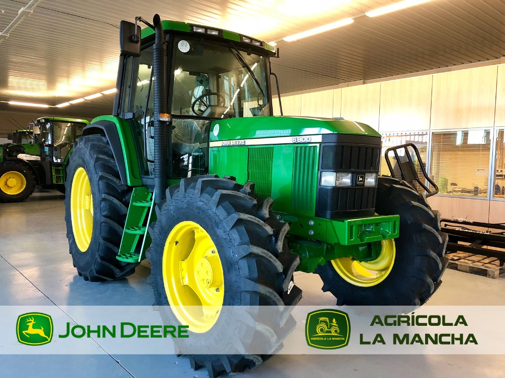 john deere 6800 gebrauchte traktoren gebraucht kaufen und verkaufen bei 7693efef. Black Bedroom Furniture Sets. Home Design Ideas