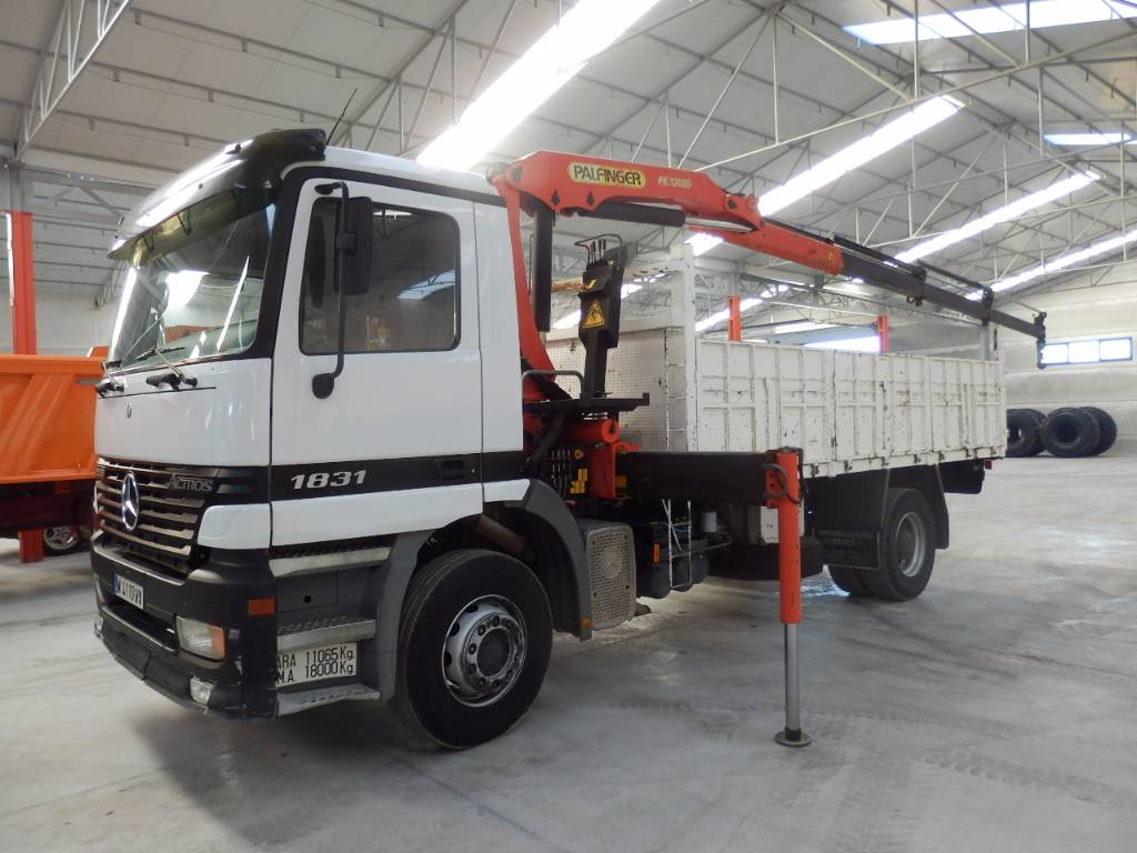 Used mercedes benz actros 1831 k dump trucks year 1998 for Used mercedes benz tipper trucks for sale in germany