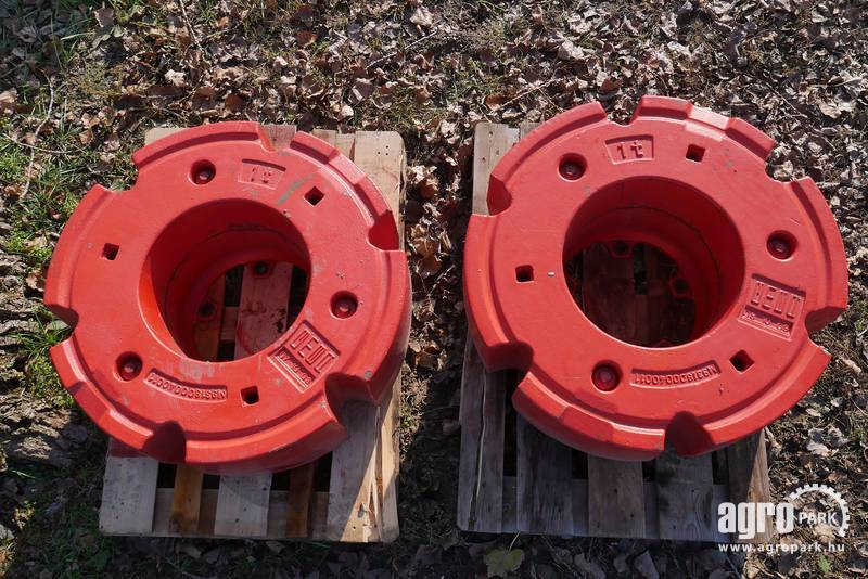 Used Tractor Wheel Weights : Fendt wheel weights for tractors kg year