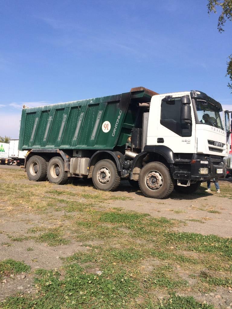 Used Iveco Trakker 440 dump Trucks Year: 2012 for sale
