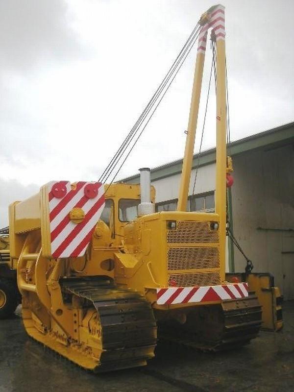 Komatsu D 355 C (34) pipelayer