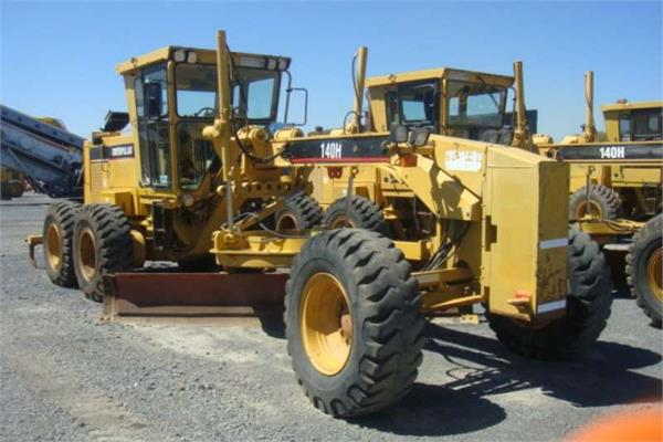 Used caterpillar 140 h motor graders year 2006 for sale for Used motor graders for sale
