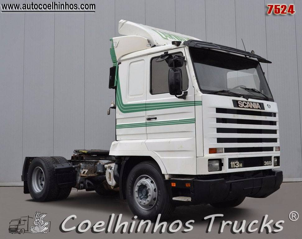 Used Scania -113h-360 tractor Units Year: 1995 Price ...