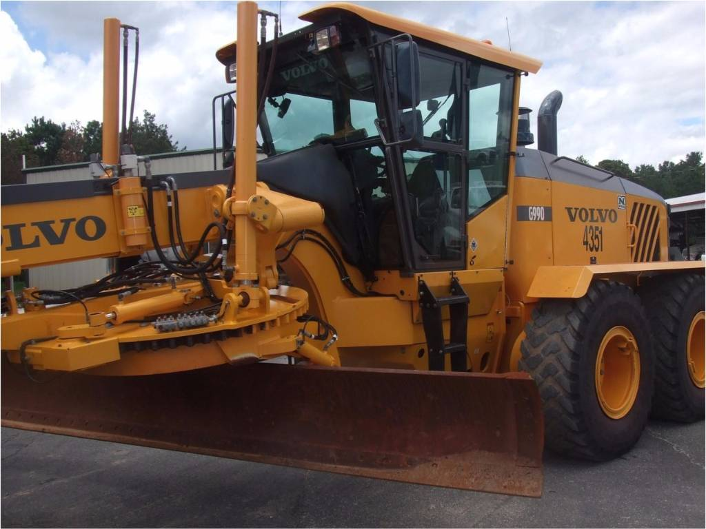 Volvo g 990 graders price 95 234 year of manufacture for Volvo motors for sale