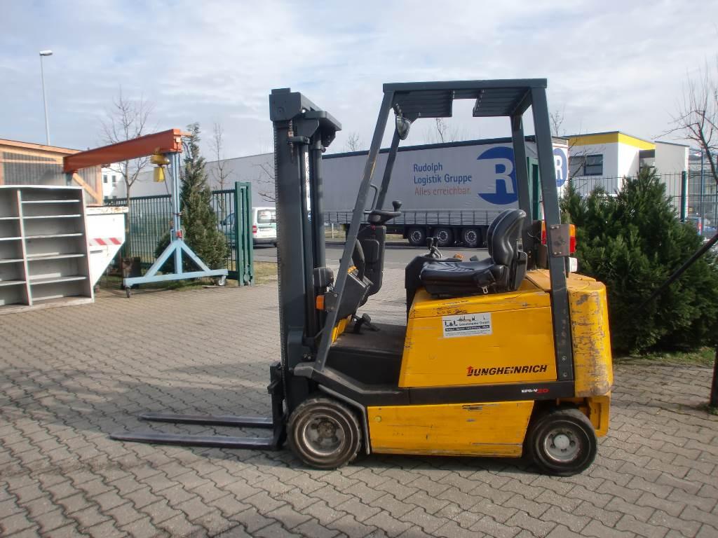Electric Forklift Jungheinrich Erv308: Used Jungheinrich -efg-v20 Electric Forklift Trucks Year