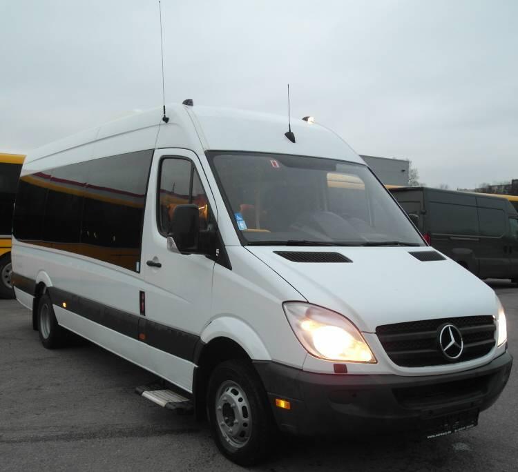 Mercedes benz o 515 cdi sprinter klima 20 sitze 518 519 for Benz hamburg