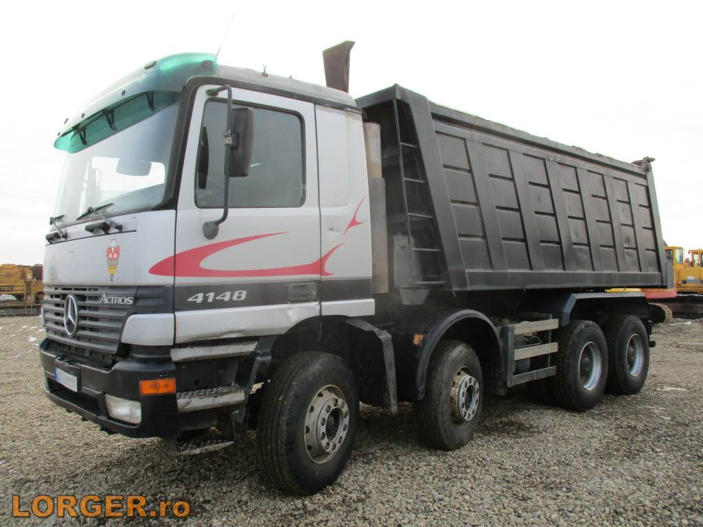 Used mercedes benz 4148 dump trucks year 2000 price for Mercedes benz trucks usa