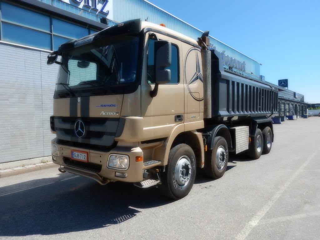 Used mercedes benz actros 4148 dump trucks year 2011 for Used mercedes benz tipper trucks for sale in germany