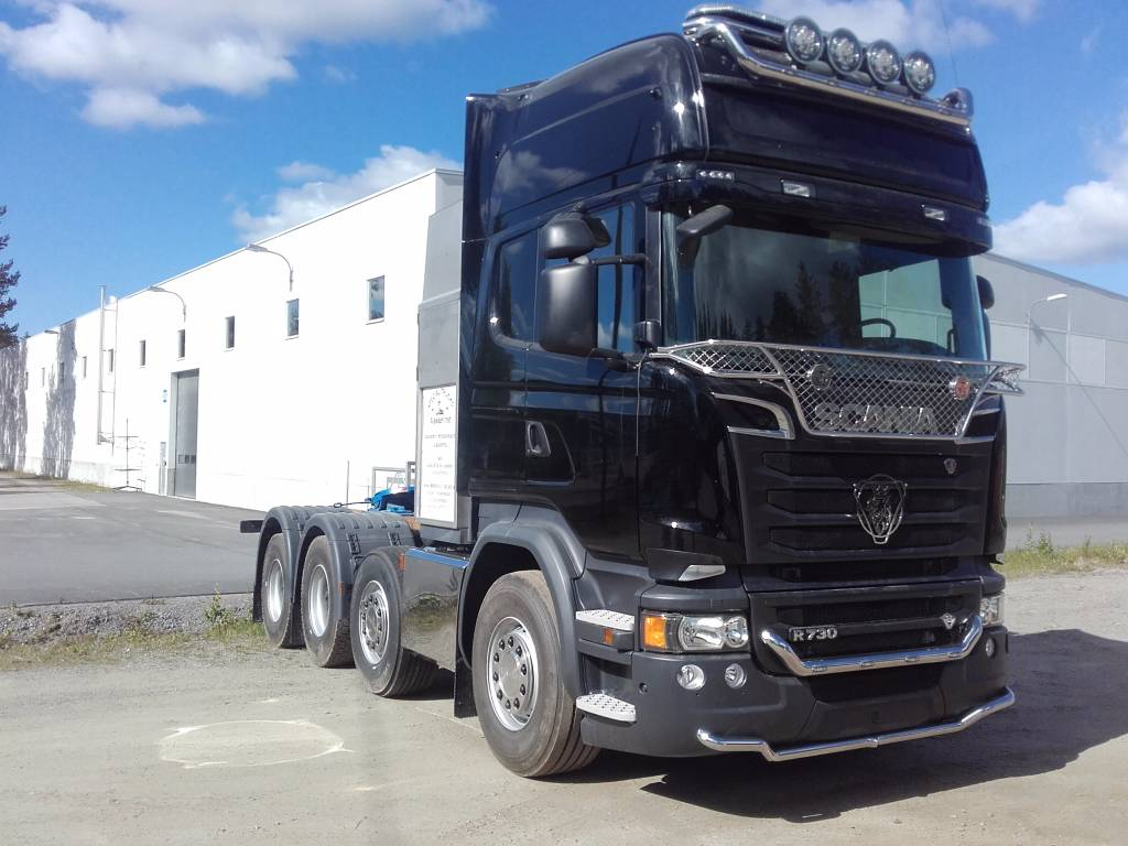How To Read Tire Size >> Used Scania R 730 8x4/4 tractor Units Year: 2018 for sale - Mascus USA