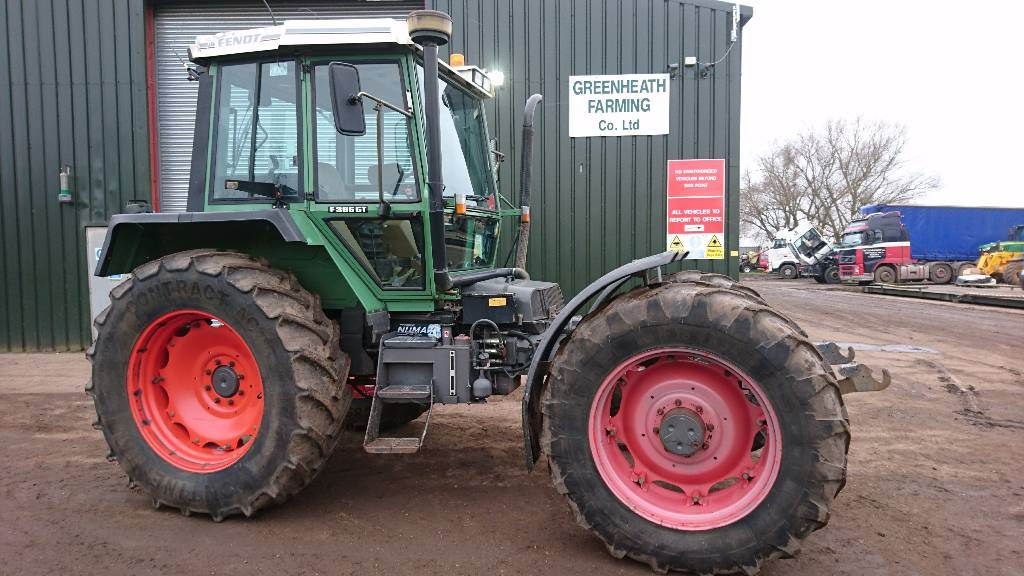 Used Tractor Tires For Sale >> Used Fendt F395 GT TOOL CARRIER tractors Year: 1997 for sale - Mascus USA