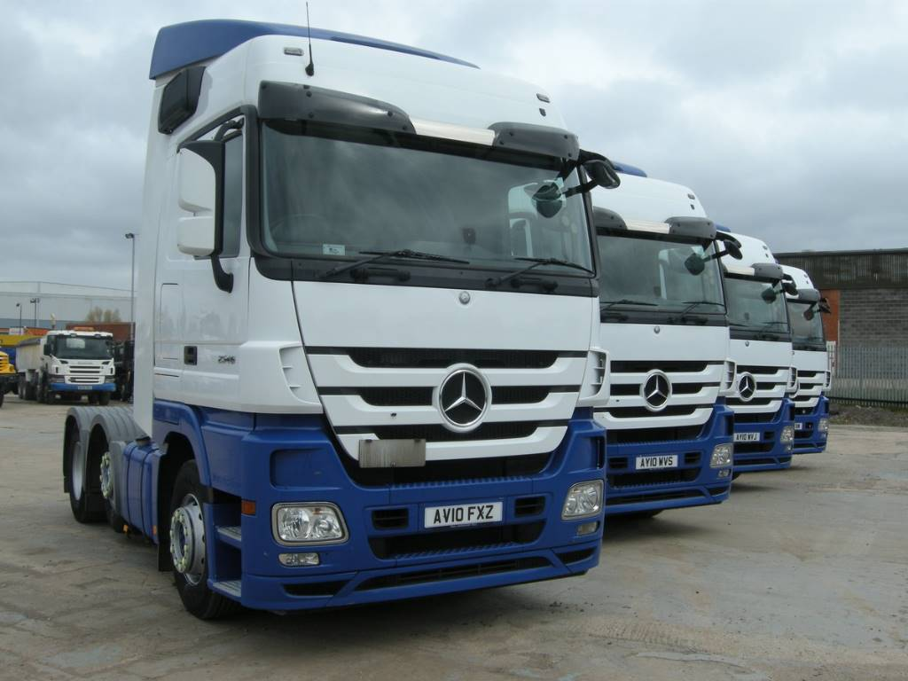 Mercedes benz actros truck tractor units year of mnftr for Used mercedes benz truck