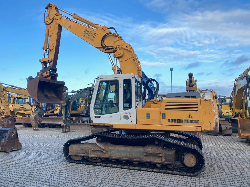 Liebherr R 924 B HD S L 6200 hours original!