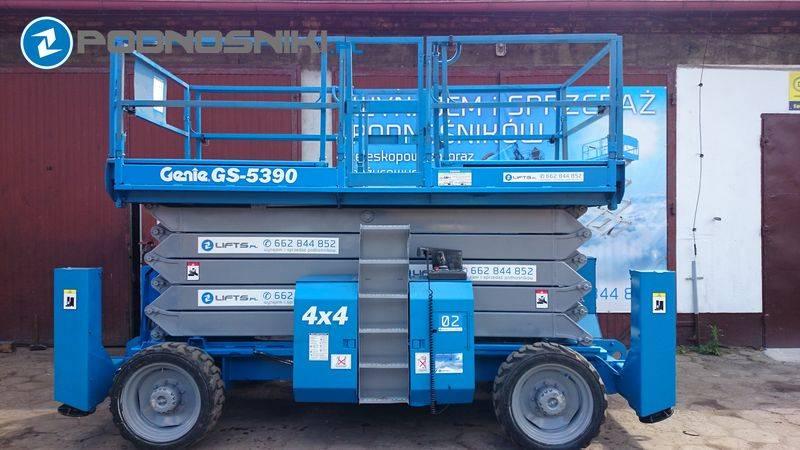 Genie GS 5390 RT Price: €18,449, 2004 - Scissor lifts