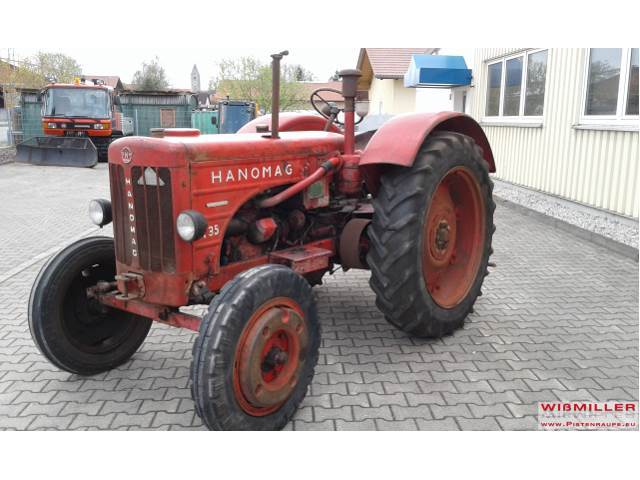 used hanomag r35 traktor oldtimer tractors year 1956. Black Bedroom Furniture Sets. Home Design Ideas
