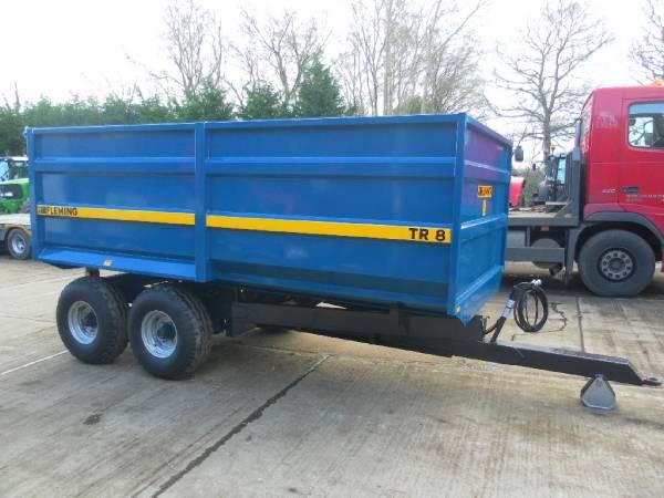 fleming tr8 8 tonne tipping trailer preis baujahr 2017 kippanh nger gebraucht. Black Bedroom Furniture Sets. Home Design Ideas