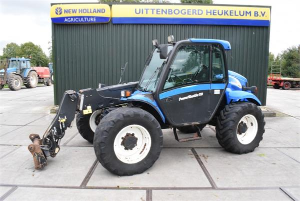 used new holland lm425a telehandlers for agriculture year 2004 price 19 603 for sale mascus usa. Black Bedroom Furniture Sets. Home Design Ideas