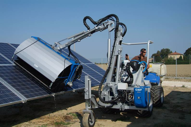 Used Multione Solar Panel Washers Brushes Year 2017 For