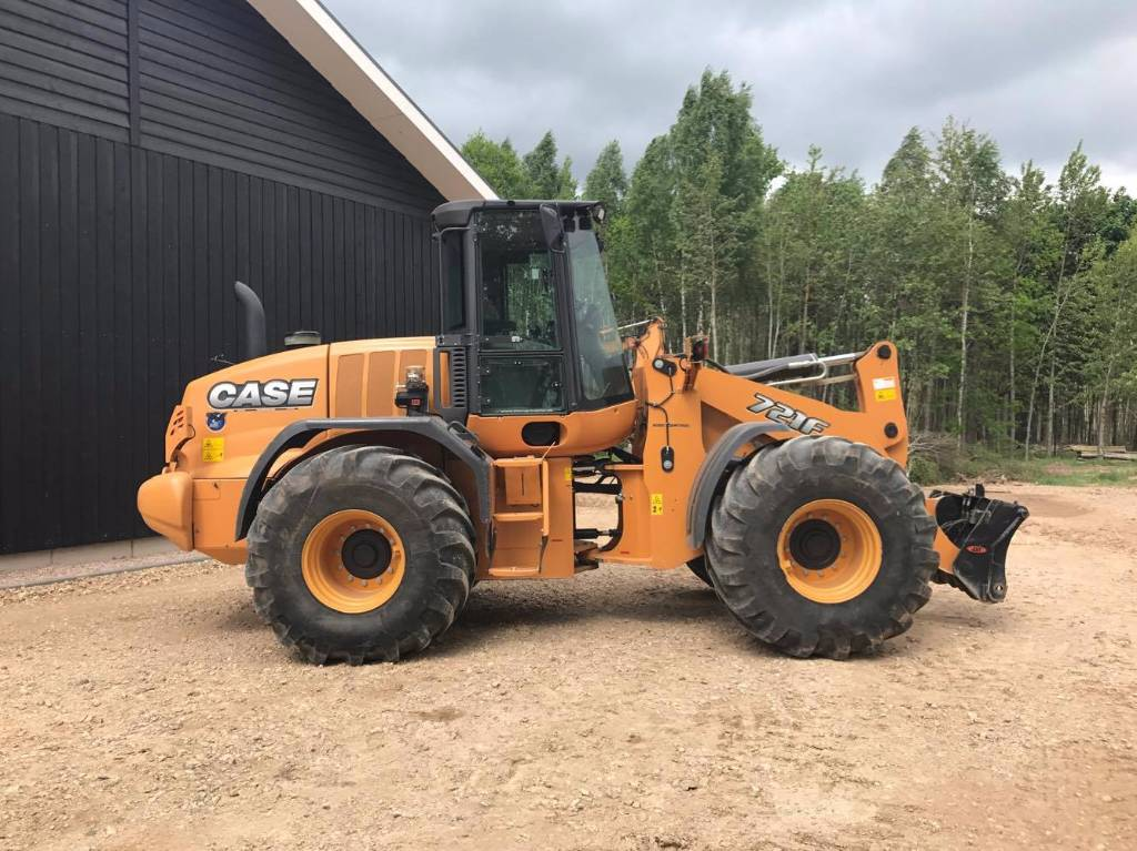Case 721 f mnftr year 2013 wheel loaders id for Avis e case construction