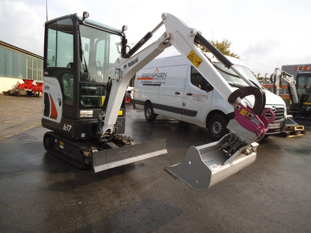 Used Bobcat E17 Mini Excavators