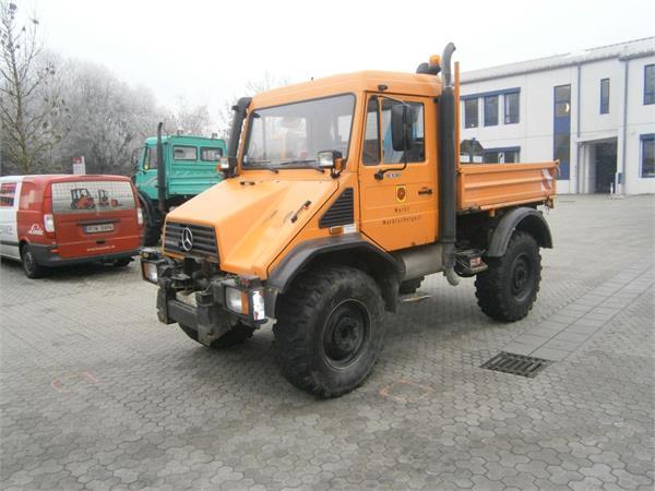 Used mercedes benz unimog u 130 utility tool carriers year for Mercedes benz unimog for sale usa