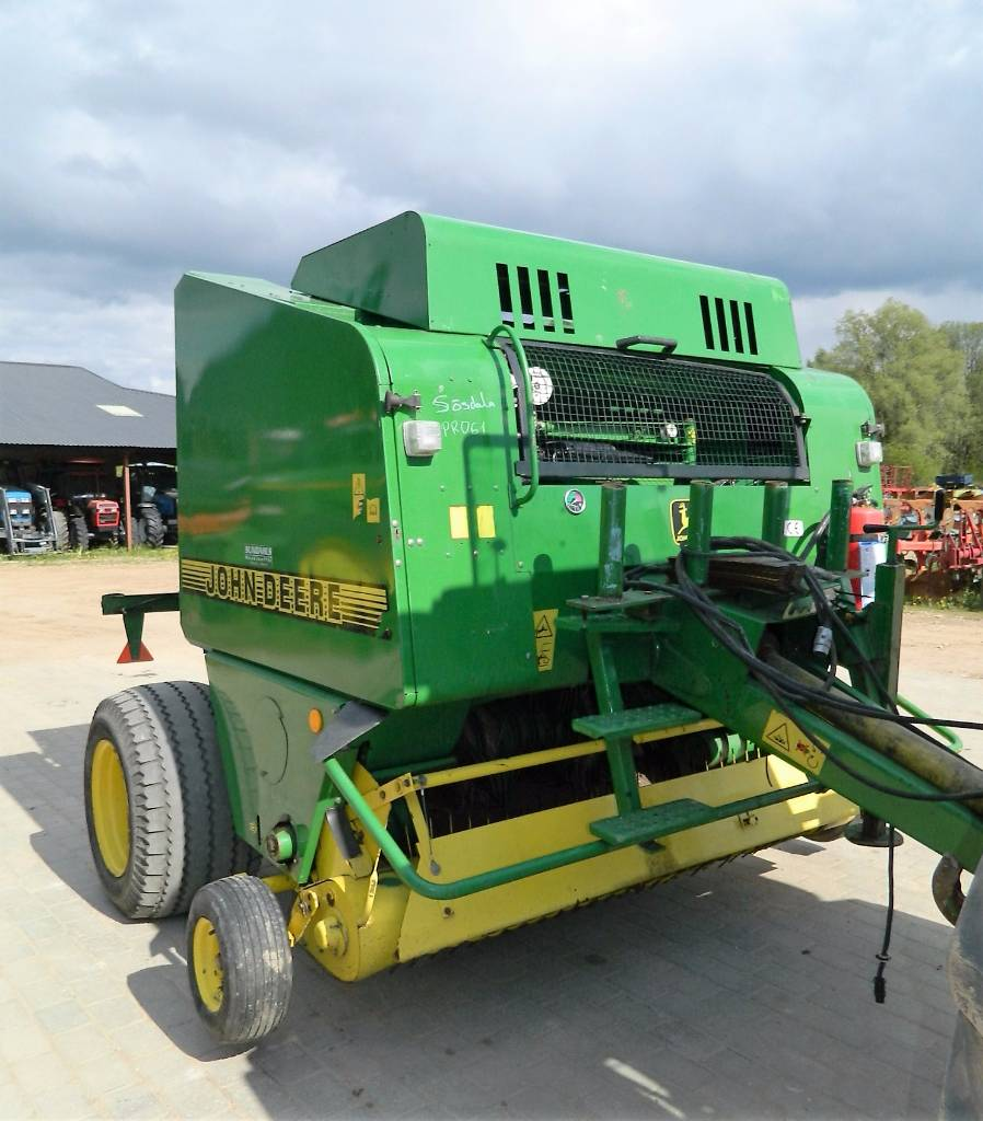 used john deere 575 round balers price 12 428 for sale mascus usa. Black Bedroom Furniture Sets. Home Design Ideas