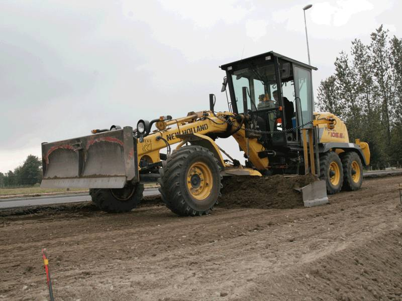 Used New Holland F 106 6a Motor Graders Year 2006 Price