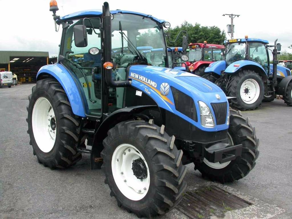 New Holland Tractors Used : Used new holland t dc tractors year price