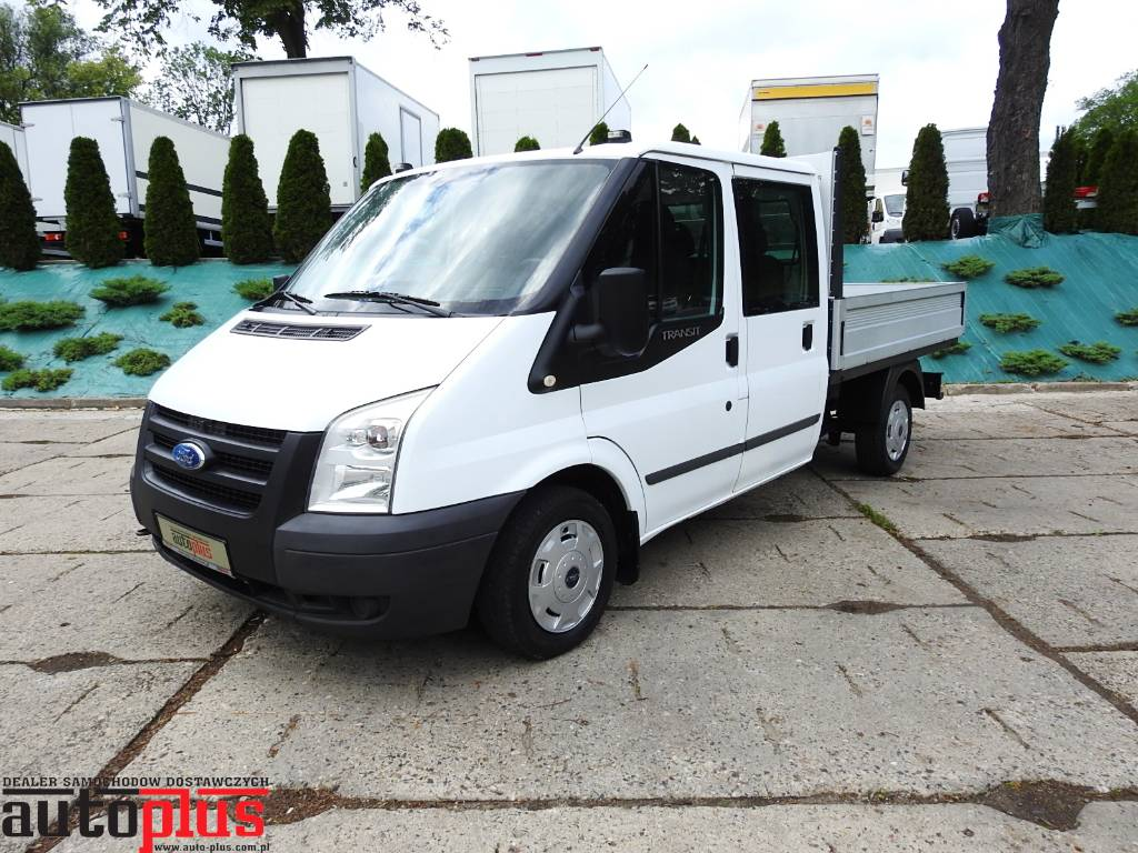 used ford transit skrzyniowy brygad wka doka 6 miejsc pickup trucks year 2009 price 9 230 for. Black Bedroom Furniture Sets. Home Design Ideas