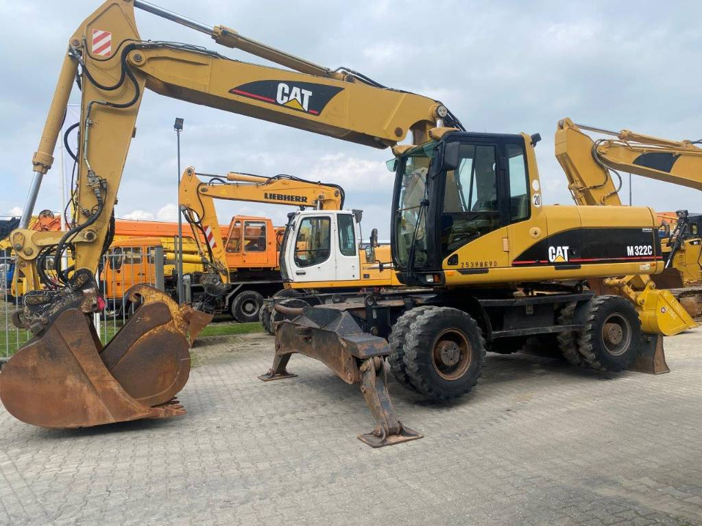 Caterpillar M 322 C TOP CONDITION!