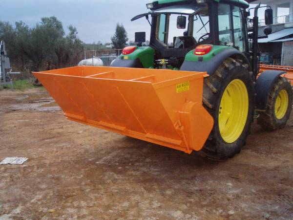 Sand Spreaders For Tractors : Used ΒΙΜ ss tractor sand and salt spreaders year